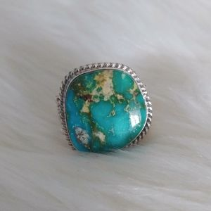 Gorgeous Turquoise Navajo Native Ring